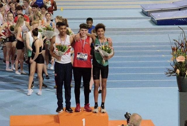 5 Nederlandse Titels bij NK-indoor Junioren!